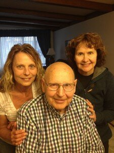 Tam Black & Jan Laudenschlager are advocates for their dad in the North Dakota outbreak