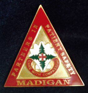 Tom & Evelyn McKnight recently presented at Madigan Army Medical Center