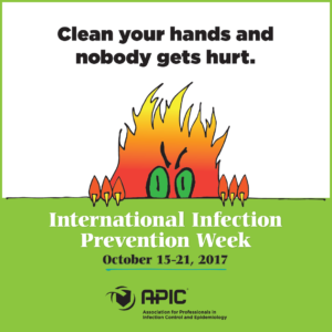 Great advice from Infection Preventionists!